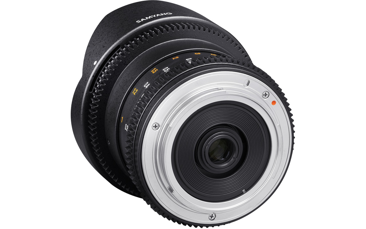 Samyang Optics 8mm T3.8 VDSLR UMC Fish-eye CS II, Four Thirds