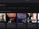 Nieuwe interface Spotify, april 2014