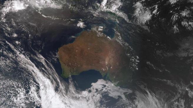 Het weer in Australië
