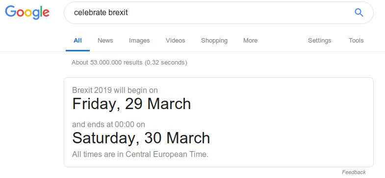 Google Brexit / Breturn