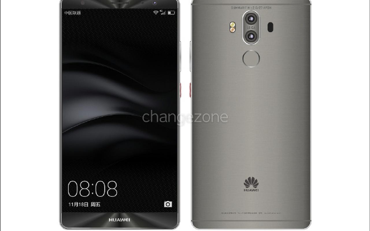 Render Huawei Mate 9