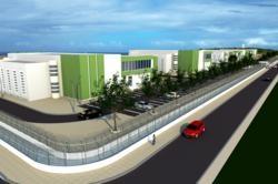 Schets van datacenter op Curaçao