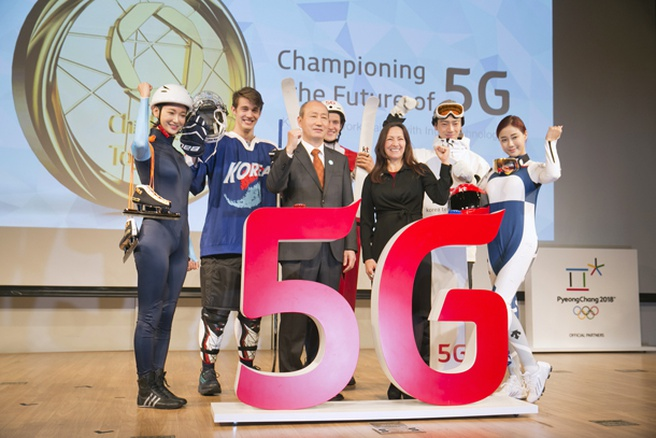 5g op Olympische Spelen