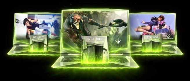 Nvidia GTX 10-series voor laptops