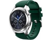 Goedkoopste qMust Sport armband voor Samsung Gear S3 Classic / Frontier - donker groen