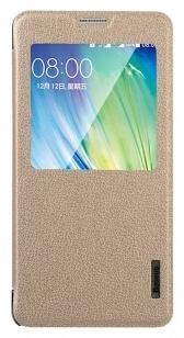 Baseus Primary Case Samsung Galaxy A7 - hoesje met slaapfunctie - goud