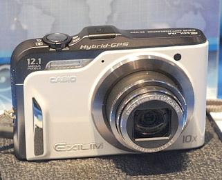 Casio gps compactcamera ces 2010