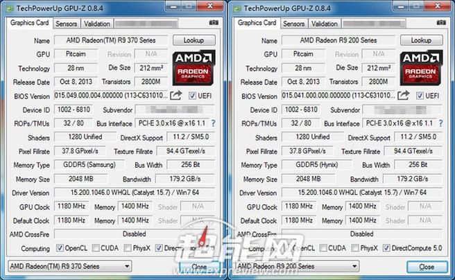 Radeon 370 CPU_Z