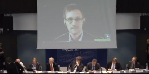 Snowden Raad van Europa