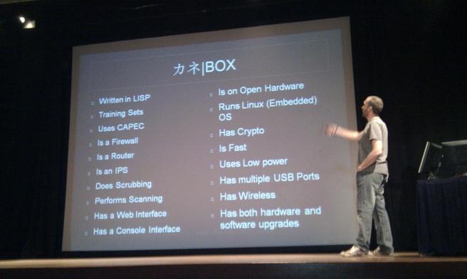 Kane Box presentatie
