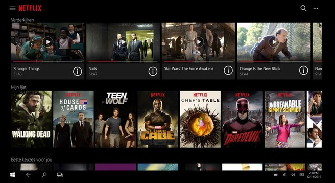 Netflix op Windows