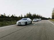 Mercedes-Benz EQS, EQE en suv-variant