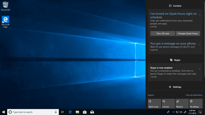 Windows 10 build 17074