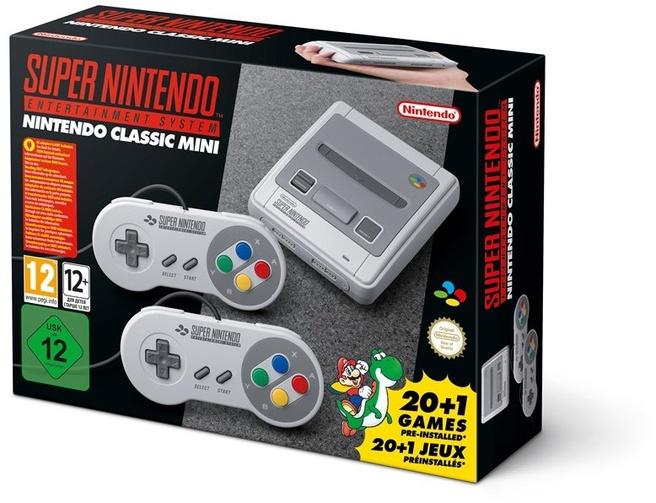 Nintendo Classic Mini : Super Nintendo Entertainment System