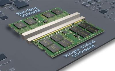 Micron ultra thin memory