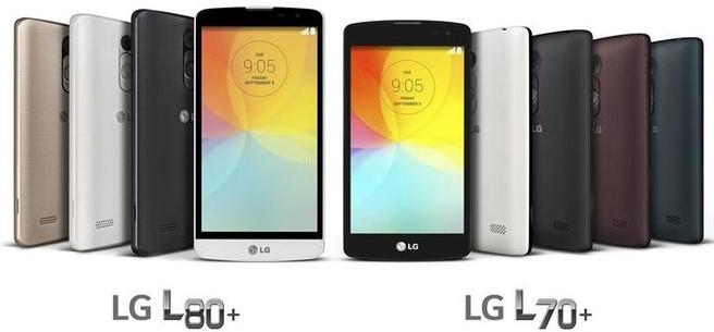 LG L70+ en L80+