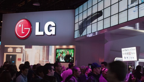 LG CES stand