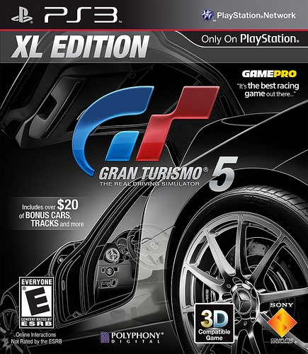 Sony Computer Entertainment Gran Turismo 5 XL Edition, Playstation 3