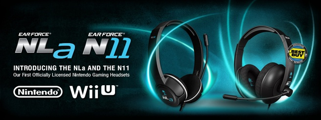 Wii U-headsets van Turtle Beach