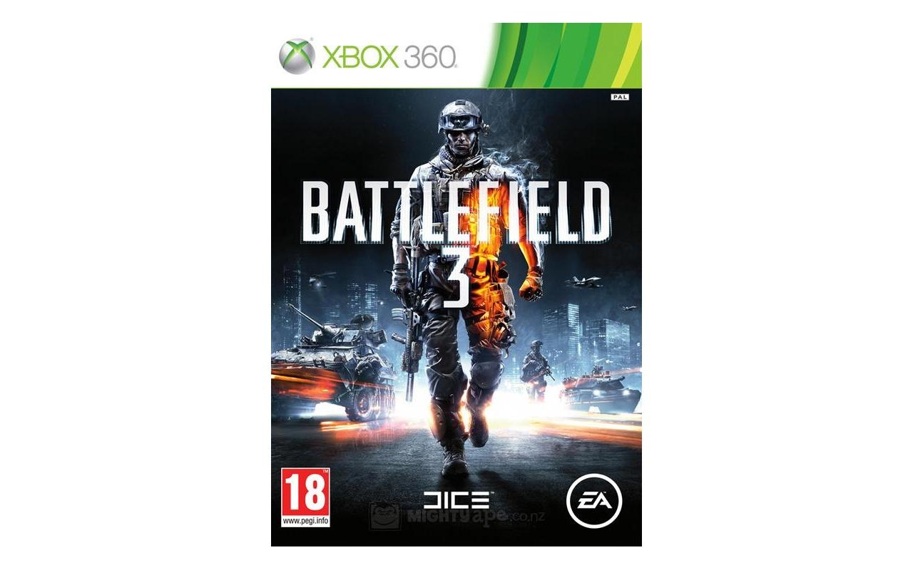 Battlefield 3, Xbox 360