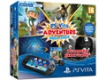 Goedkoopste Sony PlayStation Vita (2014) + Adventure Mega Pack Download Voucher + 8GB Memory Card Zwart