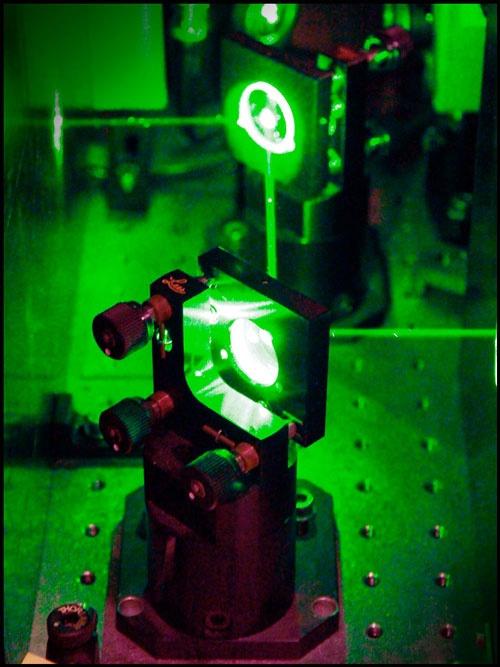 Koelen met lasers