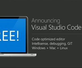 Microsoft Visual Studio Code Build 2015