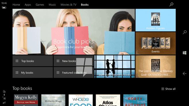Windows Store Books