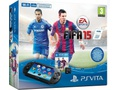 Goedkoopste Sony PlayStation Vita (2014) + Fifa 15 (download voucher) + 4GB memory card Zwart