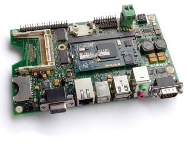 Toradex Carrier Board met sodimm processormodule