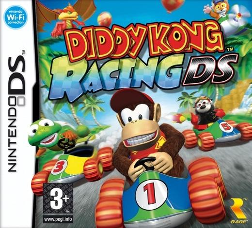 Packshot voor Diddy Kong Racing DS