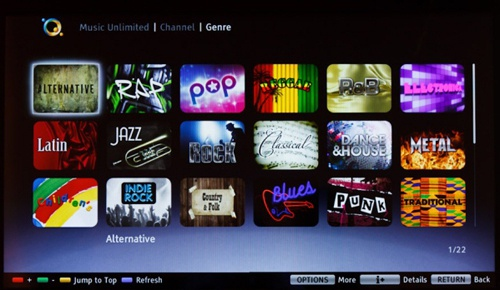 Sony Music Unlimited Powered By Qriocity