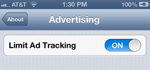 Advertising Identifier vanaf iOS 6