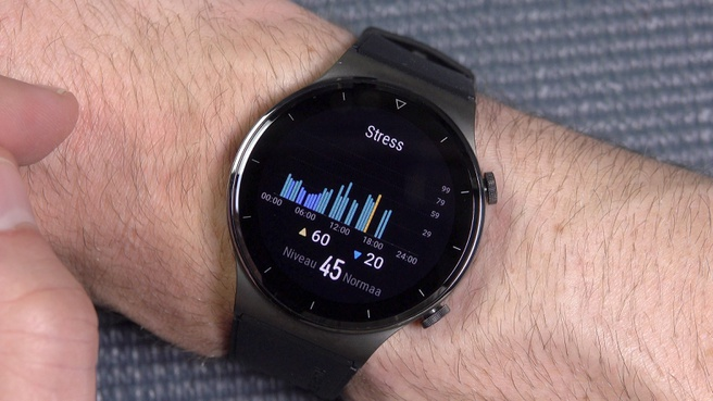 smartwatch stressmeting