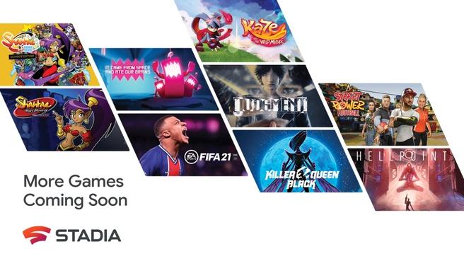 Stadia Games in 2021