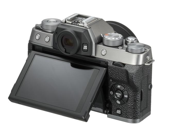 Fujifilm X-T100 back