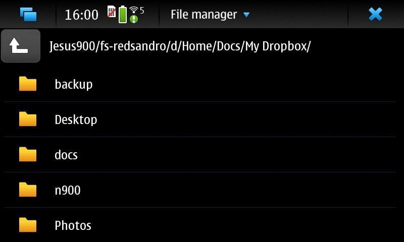 N900 Mount inside MyDocs