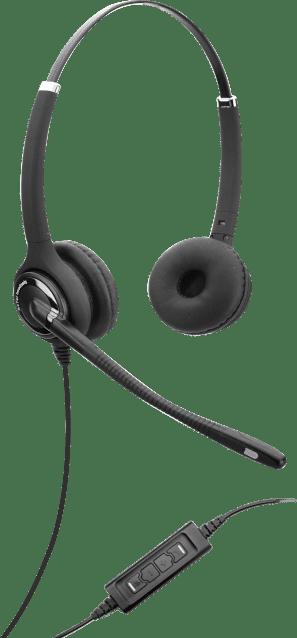 Axtel Elite HDvoice MS duo NC USB (Zwart)