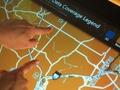 Microsoft Surface in telecomwinkel - legenda bereik