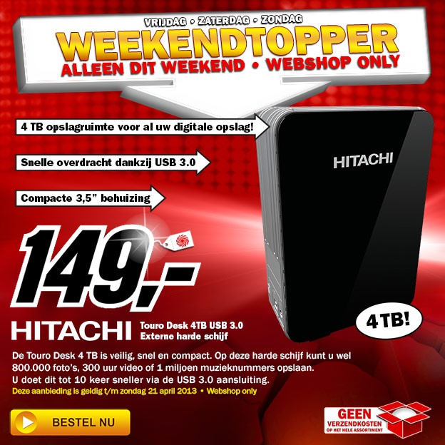 Weekendtopper MediaMarkt