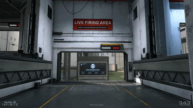 Halo Infinite Live Fire-map