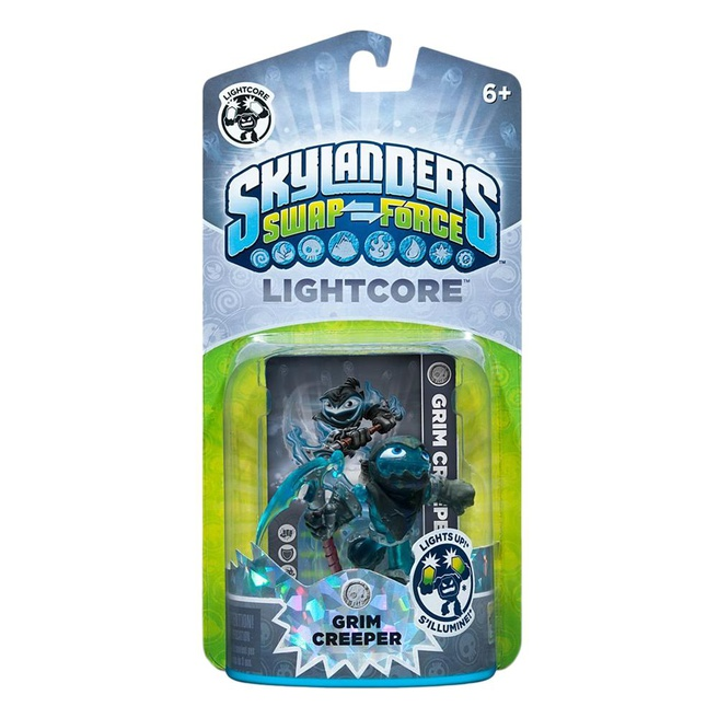 Skylanders Swap Force Grim Creeper (Light Core), Nintendo 3DS, PlayStation 3, PlayStation 4, Wii, Wii U, Xbox 360, Xbox One
