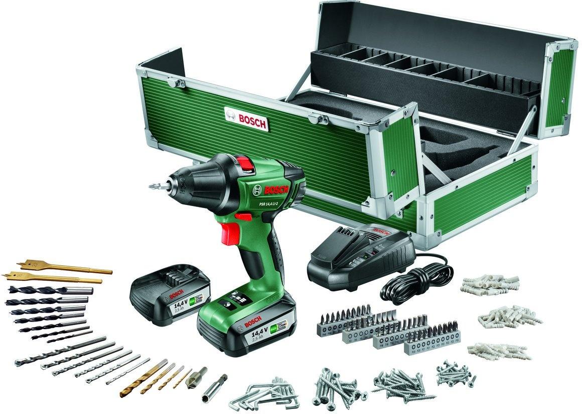 Bekend Bosch PSR 14,4 LI-2 + 241-delige toolbox - Kenmerken - Tweakers KY01