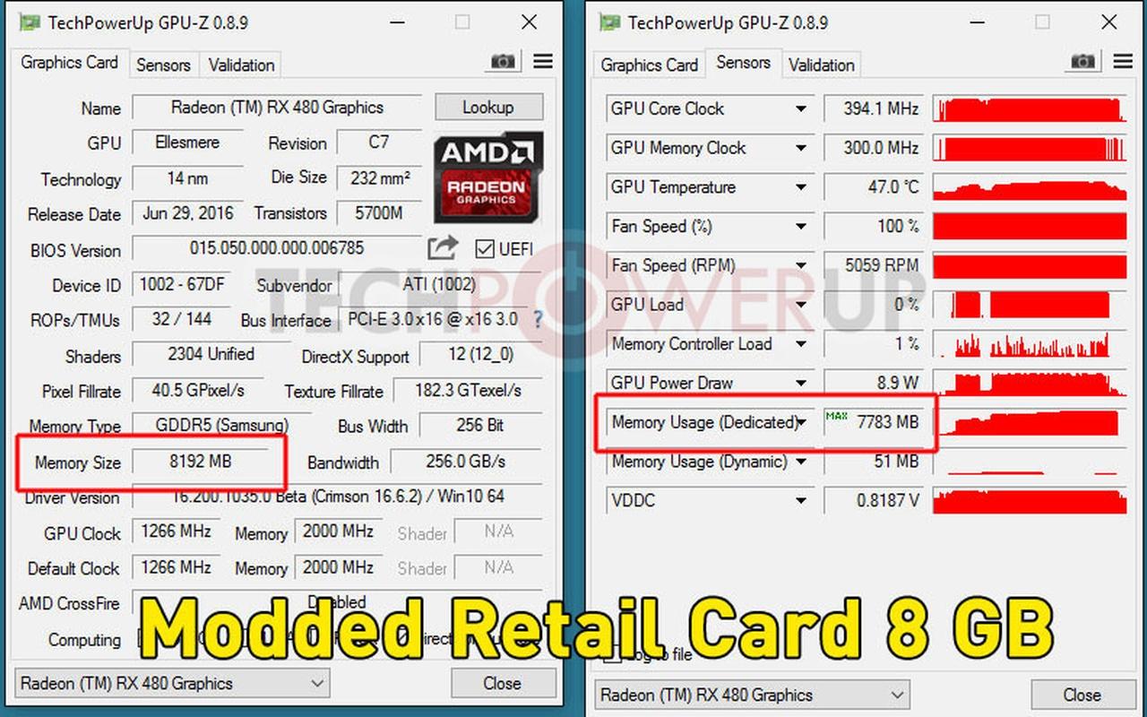 RX 480 4GB bios-flash