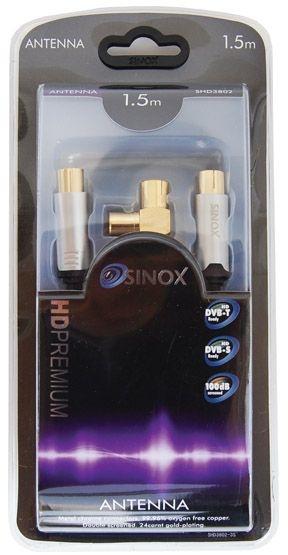 Sinox Coax M-M 3m