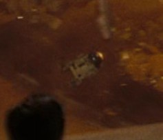 R2D2 in Star Trek 2009 vergroot