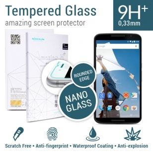 Nillkin Amazing H+ Tempered Glass Motorola Nexus 6 (Rounded Edge)