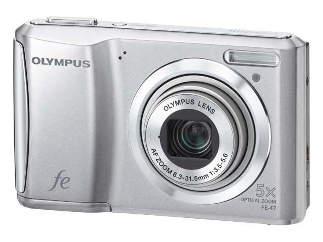 Olympus FE-47 Zilver