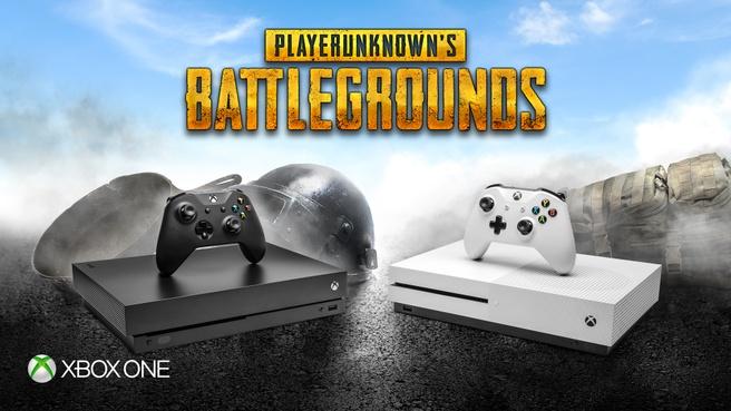 PUBG op de Xbox One