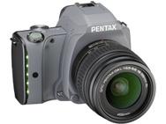 Goedkoopste Pentax K-S1 Tweed Gray + DA 18-55mm f/3,5-5,6 AL Zilver